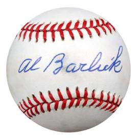 Al Barlick Autographed NL Baseball PSA/DNA #M55479