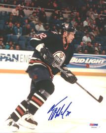 Roman Hamrlik Autographed 8x10 Photo Edmonton Oilers PSA/DNA #U96348