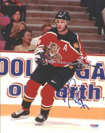 Rob Niedermayer Autographed 8x10 Photo Florida Panthers PSA/DNA #U96739