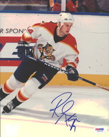 Rob Niedermayer Autographed 8x10 Photo Florida Panthers PSA/DNA #U96740