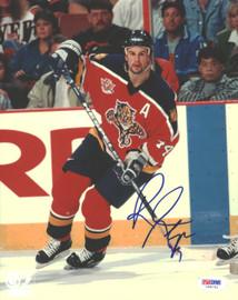 Rob Niedermayer Autographed 8x10 Photo Florida Panthers PSA/DNA #U96741