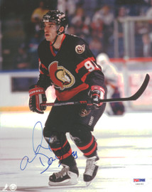 Alexandre Daigle Autographed 8x10 Photo Ottawa Senators PSA/DNA #U96191