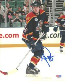 Nathan Horton Autographed 8x10 Photo Florida Panthers PSA/DNA #U96421