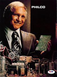 Bobby Hull Autographed Magazine Page Photo PSA/DNA #U93673