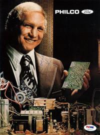 Bobby Hull Autographed Magazine Page Photo PSA/DNA #U93675