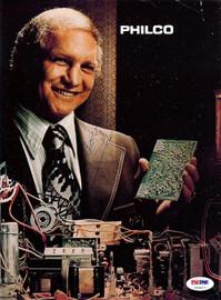 Bobby Hull Autographed Magazine Page Photo PSA/DNA #U93677