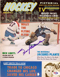Frank Mahovlich Autographed Hockey Pictorial Magazine Cover Montreal Canadiens PSA/DNA #U93851