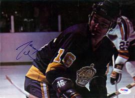 Marcel Dionne Autographed Magazine Page Photo Los Angeles Kings PSA/DNA #U93885