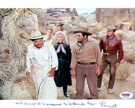 Lamont Johnson Autographed 8x10 Photo Big Valley PSA/DNA #U94795