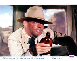 Lamont Johnson Autographed 8x10 Photo Big Valley PSA/DNA #U94796