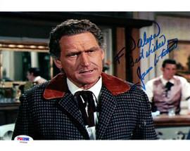 James Whitmore Autographed 8x10 Photo Big Valley PSA/DNA #U94834