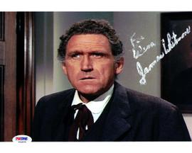 James Whitmore Autographed 8x10 Photo Big Valley PSA/DNA #U94835