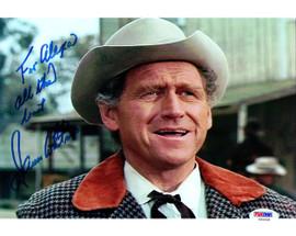 James Whitmore Autographed 8x10 Photo Big Valley PSA/DNA #U94836
