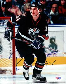 Ryan Smyth Autographed 8x10 Photo Edmonton Oilers PSA/DNA #U94864