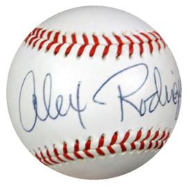 "Alex Rodriguez Autographed Wilson FSL Baseball Seattle Mariners, New York Yankees ""6/17/93"" PSA/DNA #S02837"