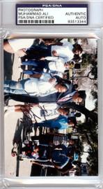 Muhammad Ali Autographed 3x5 Photo PSA/DNA #83513344