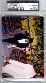 Muhammad Ali Autographed 3x5 Photo PSA/DNA #83513345