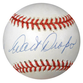 """Walt Dropo Autographed Official AL Baseball Chicago White Sox, Boston Red Sox """"To John Stephen"""" PSA/DNA #W66451"""