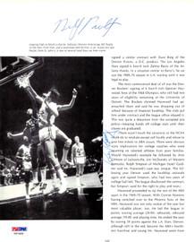 Rick Barry & Ray Scott Autographed Magazine Page Photo PSA/DNA #V57489