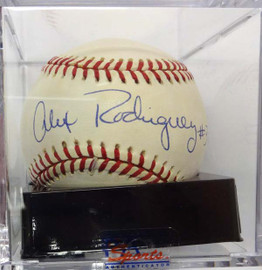 Alex Rodriguez Autographed AL Baseball Seattle Mariners Signed in 1994 Graded 9.5 PSA/DNA #C97284