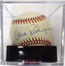 Alex Rodriguez Autographed AL Baseball Seattle Mariners Signed in 1994 Graded 9.5 PSA/DNA #C97280