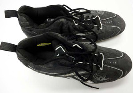 "Greg Halman Autographed Game Used Reebok Cleats ""GU"" PSA/DNA #R73914 & R73915"