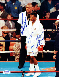 Joe Frazier & 1 Other Autographed 8x10 Photo PSA/DNA #Q95716