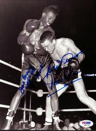 Dave Charnley & Joe Brown Autographed 7x9.5 Photo PSA/DNA #Q95735