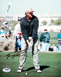 Tom Lehman Autographed 8x10 Photo PSA/DNA #X09459