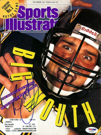 Burt Grossman Autographed Sports Illustrated Magazine San Diego Chargers PSA/DNA #X23305