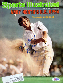 Andy North Autographed Sports Illustrated Magazine PSA/DNA #X23373