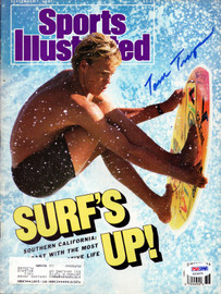 Tom Trager Autographed Sports Illustrated Magazine PSA/DNA #X23375