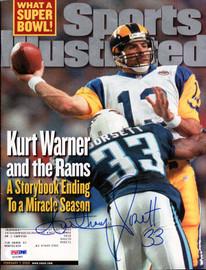 Anthony Dorsett Autographed Sports Illustrated Magazine Tennessee Titans PSA/DNA #X23385