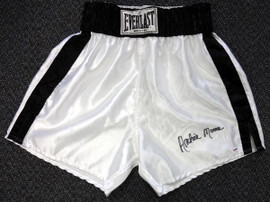 Archie Moore Autographed Everlast Boxing Trunks PSA/DNA #X30921