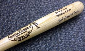 "Johnny ""Big Cat"" Mize Autographed Louisville Slugger Bat New York Yankees PSA/DNA #X58177"