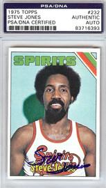 Steve Jones Autographed 1975 Topps Card #232 Spirits of St. Louis PSA/DNA #83716393