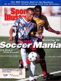 Ernie Stewart Autographed Sports Illustrated Magazine Team USA PSA/DNA #X59871