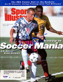 Ernie Stewart Autographed Sports Illustrated Magazine Team USA PSA/DNA #X65466