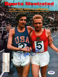 Frank Shorter Autographed Sports Illustrated Magazine PSA/DNA #X65570