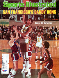 Bill Cartwright Autographed Sports Illustrated Magazine San Francisco Dons PSA/DNA #X65175