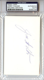 Jimmy Walker Autographed 3x5 Index Card PSA/DNA #83697756