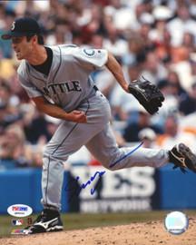 Shigetoshi Hasegawa Autographed 8x10 Photo Seattle Mariners PSA/DNA #Q88664