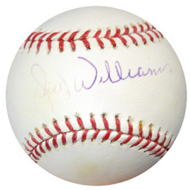 Dick Williams Autographed Official MLB Baseball Dodgers, Orioles TriStar #7200181