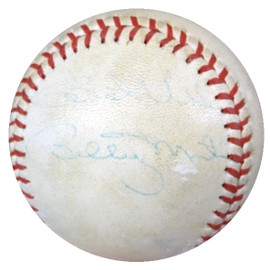 """Billy Martin Autographed Official AL Baseball New York Yankees """"Best Wishes"""" PSA/DNA #Y08101"""