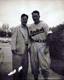 Fred Hutchinson Autographed 8x10 Photo Detroit Tigers JSA #H12860