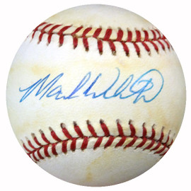 Mark Whiten Autographed Official AL Baseball New York Yankees, St. Louis Cardinals PSA/DNA #Y29595