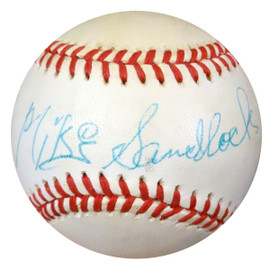 Mike Sandlock Autographed NL Baseball Brooklyn Dodgers PSA/DNA #Z33299