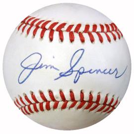 Jim Spencer Autographed Official NL Baseball 1978 New York Yankees PSA/DNA #Y29930