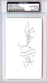 Sidney Wicks Autographed 3x5 Index Card Celtics, Blazers PSA/DNA #83814126