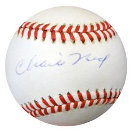 Charlie Neal Autographed Official NL Baseball Brooklyn Dodgers PSA/DNA #Z80179